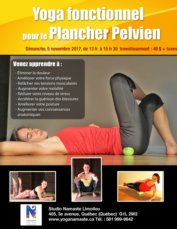 pelvic floor yoga fonctionnel